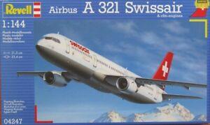 Revell 1/144 Swissair Airbus A321