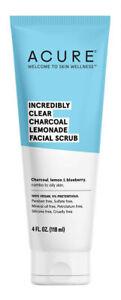 Acure Charcoal Lemonade Facial Scrub 118ml