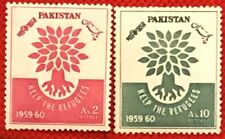 Pakistan 112-113 MNH - Refugee Relief / Trees