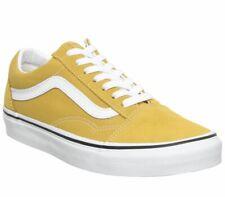 Zapatillas para hombre Vans Old Skool yema Amarillo cierto Blanco Zapatillas Zapatos