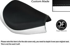 WHITE AND BLACK VINYL CUSTOM FITS KINROAD XT 125 16 FRONT SEAT COVER ONLY
