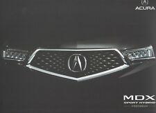 ACURA MDX SUV Car (for China market) _ 2017 Prospectus/Brochure
