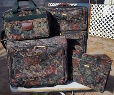 Ricardo Beverly Hills 4 pc luggage set large suitcase, garment, carry on, tote