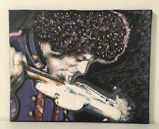 Jimi Hendrix Licking a Guitar 16 x 20 Photo