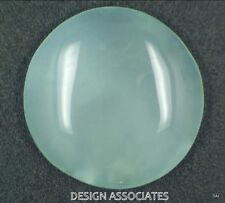 AQUAMARINE CABOCHON ROUND CUT 53.5 CARATS OUTSTANDING BLUE COLOR ALL NATURAL