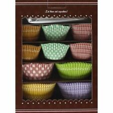 Cupcake Kit:      Recipes, Liners and Decorating Tools