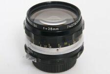 Nikon NIKKOR Kamera-Objektive mit 28mm