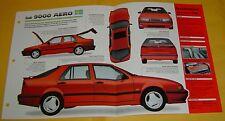 1995 Saab 9000 Aero Inline 4 Cylinder 225hp 2290cc EFI IMP Info/Specs/photo 15x9