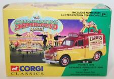 Corgi 1/43 scale 06601 Morris 1000 Advance publicity van set Carters fairs