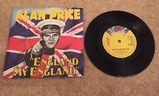 "Alan Price - England My England / Citizens Of The World Unite 7"" Record"