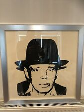 Warhol, Joseph Beuys, 1980, Seal. By Andy Warhol,original, Hand Signed, Rare,