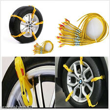 10in1 voiture suv off-road glace neige boue sol roue pneu d'urgence anti-skid chaîne