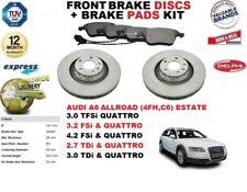 für Audi A6 Allroad 2.7 3.0 3.2 4.2 347mm Vorderbremse Scheibensatz +