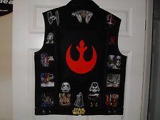 STAR WARS Tribute Vest--XL--Black....Star trek, Star Wars,