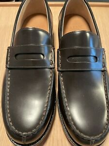 BALLY FROM SWITZERLAND MOD PERRY  BROWN LEATHER AND GOODYEAR SOLE - NEW WITH BOX
