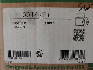 Taco 0014-F1, Series 0014 Cast Iron Circulator, 1/8 HP, 115V