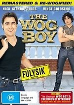 The Wog Boy * NEW DVD * Vince Colosimo Nick Giannopoulos (Region 4 Australia)