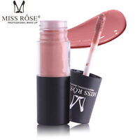 MISS ROSE Waterproof Matte Lip Gloss Long Lasting Moisturizer Liquid Lipstick