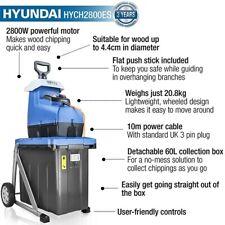 More details for hyundai quiet electric garden shredder, 2800w, 2.8kw, 230v | hych2800es