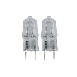 Trisonic G8 120V Halogen Bulbs 25 Watts High Brightness, Energy Efficient 2 Pack
