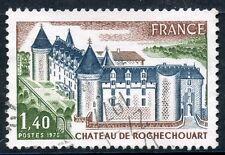 STAMP / TIMBRE FRANCE OBLITERE N° 1809 CHATEAU DE ROCHECHOUART