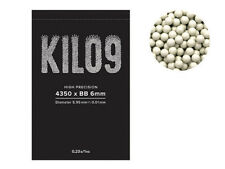 UK STOCK - AIRSOFT 4350RD ROUND 0.23G BB BULLETS AMMO 6MM WHITE PELLETS