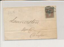 LM02972 Great Britain 1851 nice cover with good cancels used