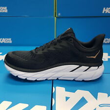 NEW Hoka One One CLIFTON 7 1110509/BBRN Black/Bronze Running Shoes For Women