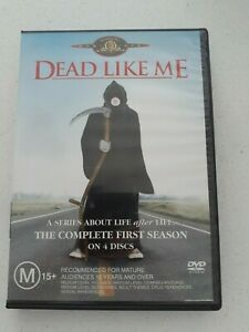 Dead Like Me : Season 1 (DVD, 2005, 4-Disc Set) Region 4 AU