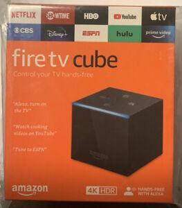 Amazon Fire TV Cube 16GB 2nd Gen Streaming Media Player Alexa NEW LATEST