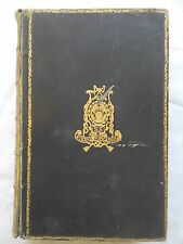 REVIEWS,ESSAYS,AND POEMS,BY LORD MACAULAY.ANTIQUE LEATHER,1880 ?.WELL PRESERVED