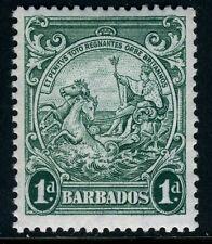 Barbados 1942 Badge of Colony 1d Blue Green MSCA Perf 13½x13 SG 249b MNH U990
