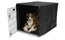 42 Inch Privacy Dog Crate Kennel Cover Pet Wire Cage Folding Cover Machine Wash