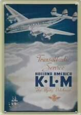 Metalen Kaart/Tin-Card/Blechkarte - KLM The Flying Dutchman (004)