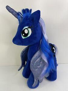 "Build A Bear BABW My Little Pony MLP PRINCESS LUNA Blue Moon Stuffed Plushy 19"""