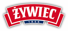 "Zywiec Brewery Beer Poland Drink Car Bumper Sticker Decal 6"" x 3''"