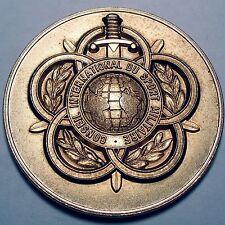 FRANCE, CONSEIL INTERNATIONAL DU SPORT MILITAIRE Medal 60mm 86.5g Brass.