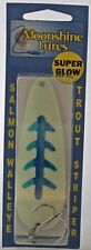 MOONSHINE LURES GLOW IN THE DARK CASTING SPOON 1 OZ. HAPPEE MEAL 214