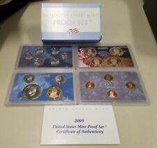 2009 Clad US Proof Set (18 Coins) W/ OGP & COA