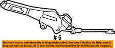 CHRYSLER OEM 04-08 Crossfire-Parking Brake Lever 5098499AA