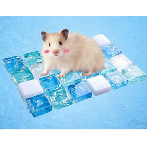 Guinea Pig Hamster Cooling Stone Mat Pad Summer Small Pet Cool Bed House