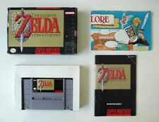 The Legend of Zelda: A Link to the Past- (SNES) -  Complete game W/ Map