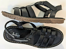 Collection by Clarks Blake Jewel black leather Fisherman Sandals women's 7.5M