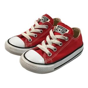 Converse All Star Toddler Size 6 Red Sneakers