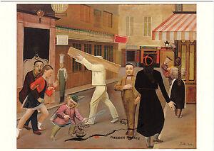 Kunstpostkarte - Balthus:  Die Straße
