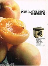 PUBLICITE ADVERTISING 055  1982  TERRAILLON   balance  automatique 5kg