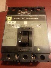 Square D FAL340155A53 15AMP 480VAC 50/60HZ 3P
