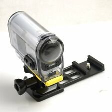 Sony Picatinny Weaver Side Rail Gun Camera Mount Hunting Airsoft Paintball Cam