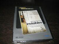 Invisibile DVD Prodotto Da Javier Bardem Sigillata Nuovo