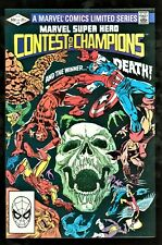 Marvel Comics Marvel Super Hero Contest of Champions #4 NM- or better!